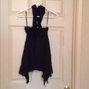 Lightweight Black Camisole Top